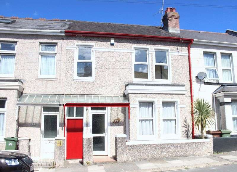 3 Bedrooms Terraced House for sale in St. Georges Avenue, Peverell, Plymouth