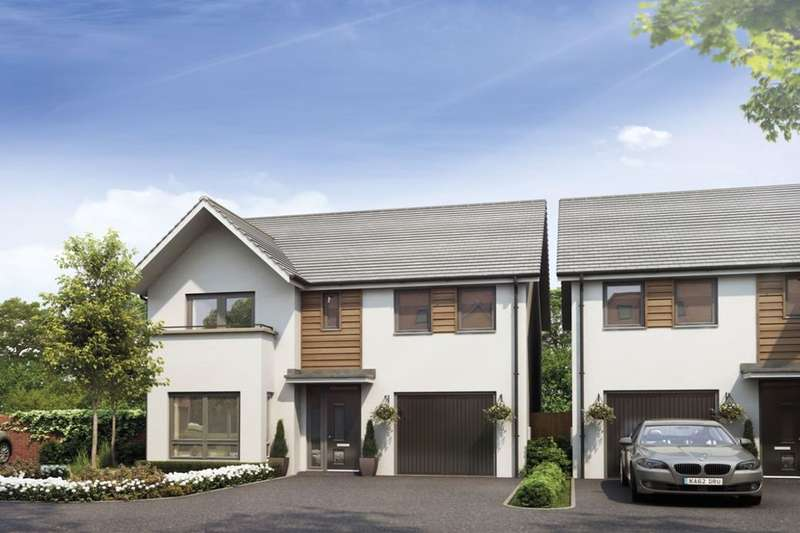 4 Bedrooms Detached House for sale in The Clermont Burton Road, Castle Gresley, Swadlincote, DE11