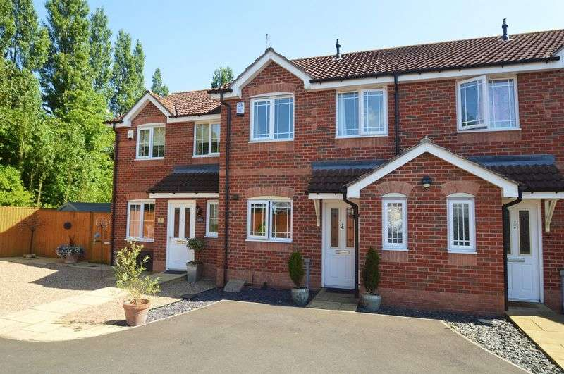 3 Bedrooms Terraced House for sale in Lakeside Court, Bilsthorpe