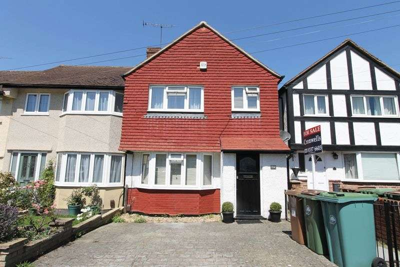 3 Bedrooms Terraced House for sale in Buckland Way, Worcester Park