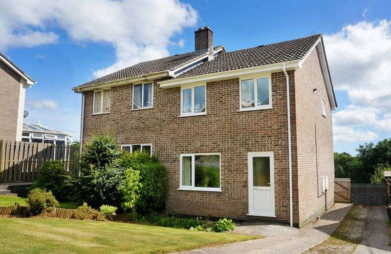 3 Bedrooms Semi Detached House for sale in Treheath Road, Dobwalls, Liskeard