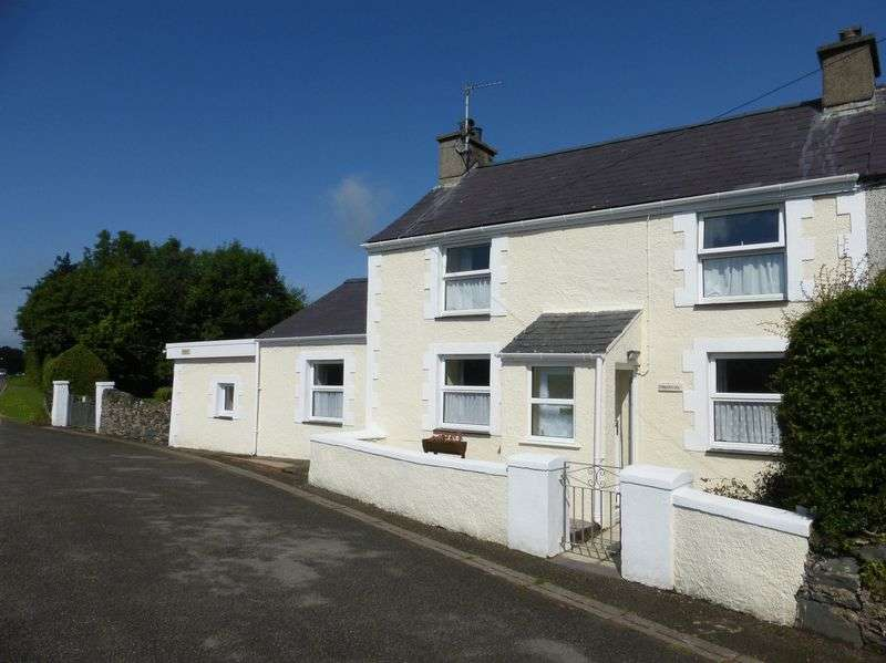 3 Bedrooms Semi Detached House for sale in Dwyran