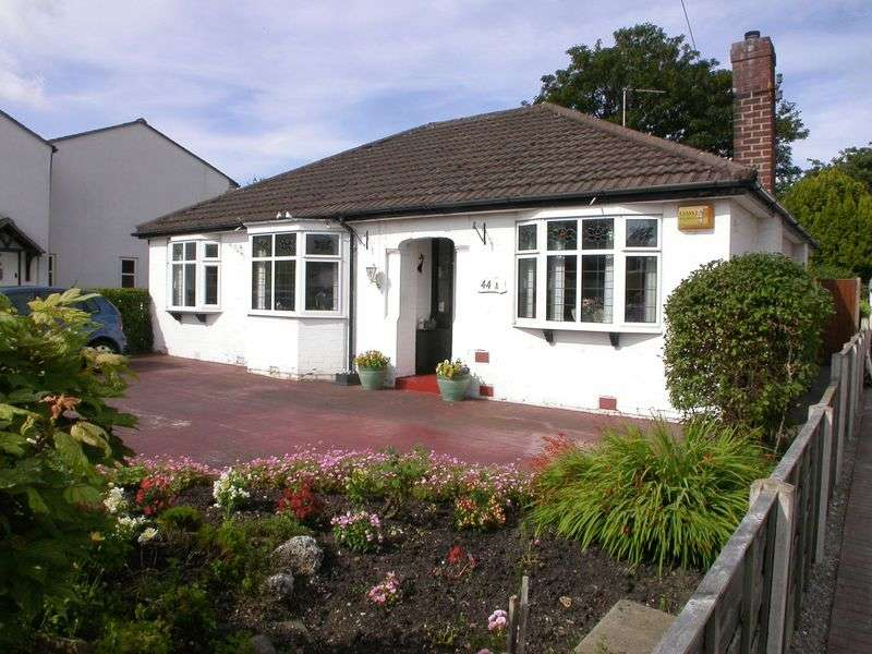2 Bedrooms Bungalow for sale in CHEADLE HULME (HULME HALL ROAD)