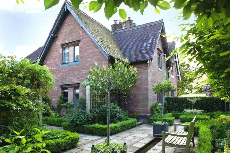3 Bedrooms Semi Detached House for sale in Stone Cottage, Weston Lane, Standon Bowers, Staffordshire. ST21 6RW