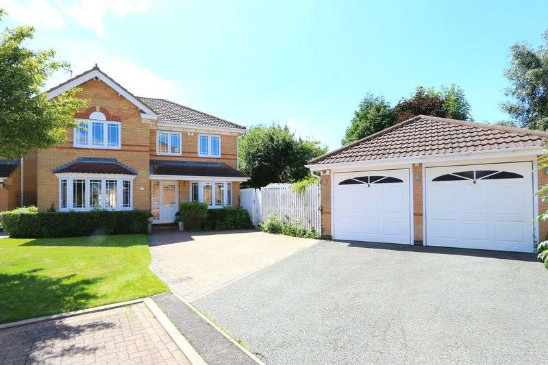 4 Bedrooms Detached House for sale in Petunia Close, Leicester Forest East