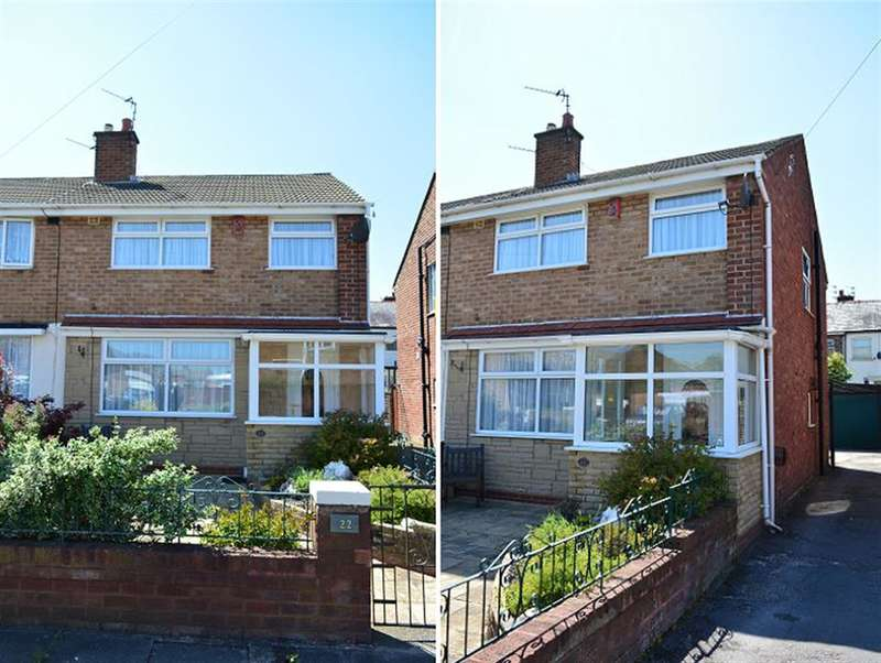 3 Bedrooms Semi Detached House for sale in Hurstmere Avenue, Blackpool, FY4 3EJ