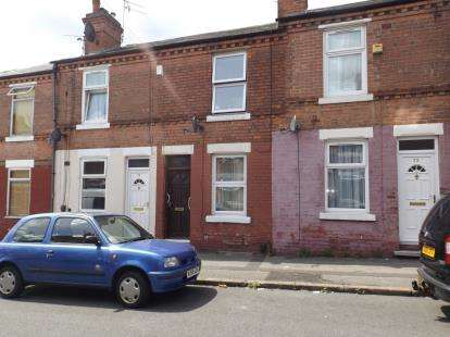 2 Bedrooms Terraced House for sale in Windermere Road, Forest Fields, Nottinghamshire