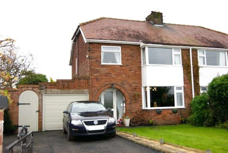 3 Bedrooms Semi Detached House for sale in Croeshowell Lane, Burton, Rossett, Wrexham