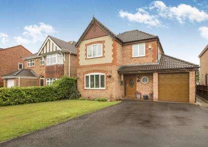 4 Bedrooms Detached House for sale in Allington Close, Walton-Le-Dale, Preston, Lancashire