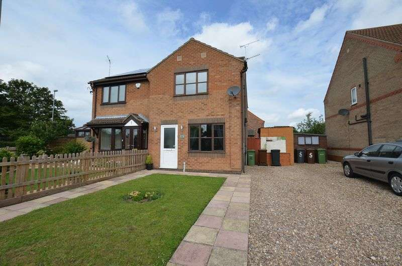 3 Bedrooms Semi Detached House for sale in Brooklands Way, Doddington Park, Lincoln