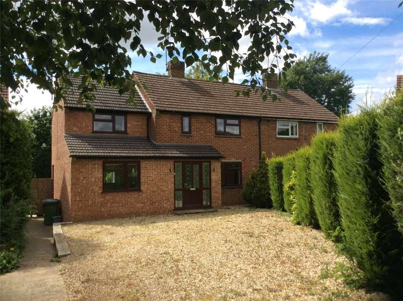 3 Bedrooms Semi Detached House for sale in Barley Hill, Culworth, Banbury, Northamptonshire, OX17