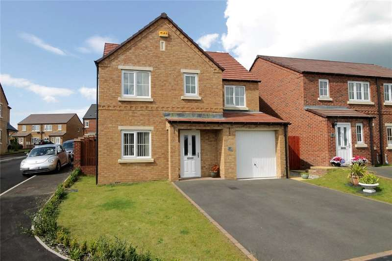 4 Bedrooms Detached House for sale in Askrigg Close, Consett, Durham, DH8