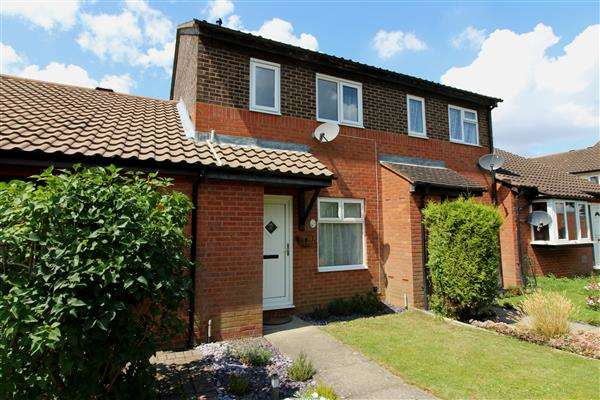 2 Bedrooms Terraced House for sale in Greenleys, Milton Keynes