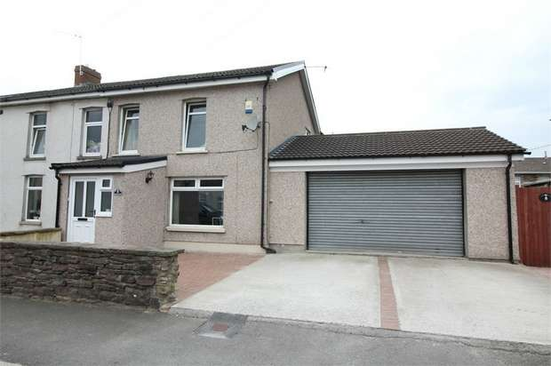 3 Bedrooms Semi Detached House for sale in Llanarth Square, Risca, NEWPORT, Caerphilly