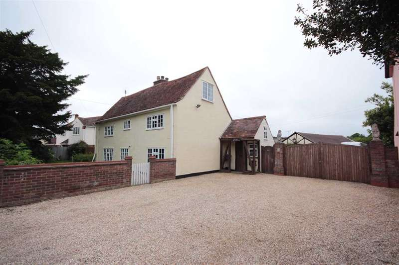 4 Bedrooms Detached House for sale in Hill House, Harwich Road, Great Bromley, Colchester