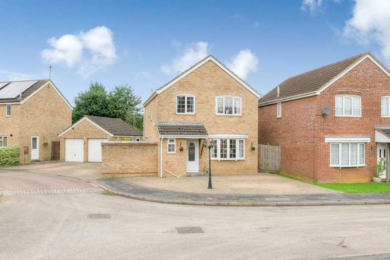 4 Bedrooms Detached House for sale in Bramble Road, Towcester