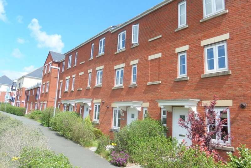 4 Bedrooms Terraced House for sale in Russell Walk, Clyst Heath