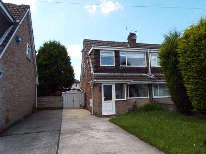 3 Bedrooms Semi Detached House for sale in Crediton Close, Livesey, Blackburn, Lancashire