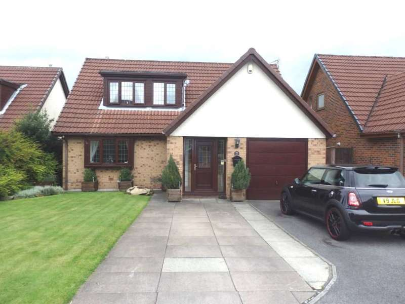 5 Bedrooms Detached Bungalow for sale in Springwater Close, Harwood