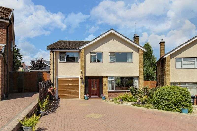 4 Bedrooms Detached House for sale in Pinewood Close, Newport
