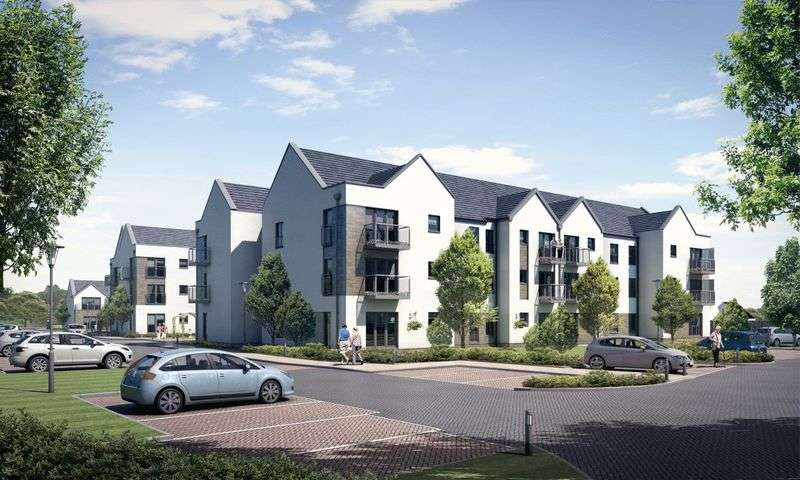 1 Bedroom Flat for sale in The Hailes, Haddington: BRAND NEW ONE BEDROOM APARTMENTS NOW AVAILABLE