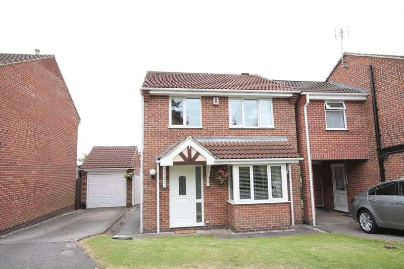 3 Bedrooms Detached House for sale in DAYLESFORD CLOSE, LITTLEOVER