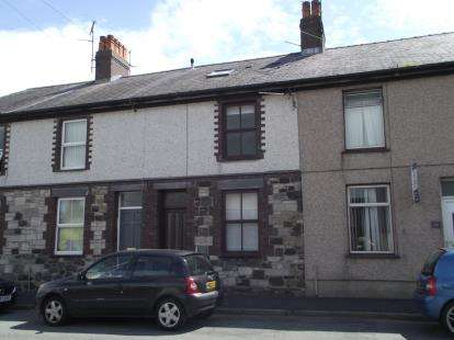 4 Bedrooms Terraced House for sale in Ambrose Street, Bangor, Gwynedd, LL57