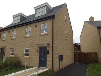 3 Bedrooms Semi Detached House for sale in Prince Charles Avenue, Mackworth, Derby
