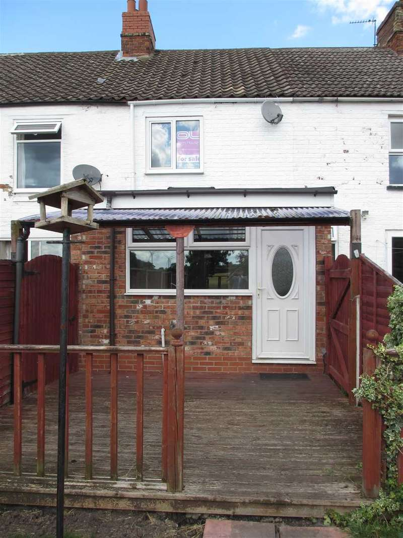 2 Bedrooms Terraced House for sale in Old Row, Burton upon Stather, Scunthorpe