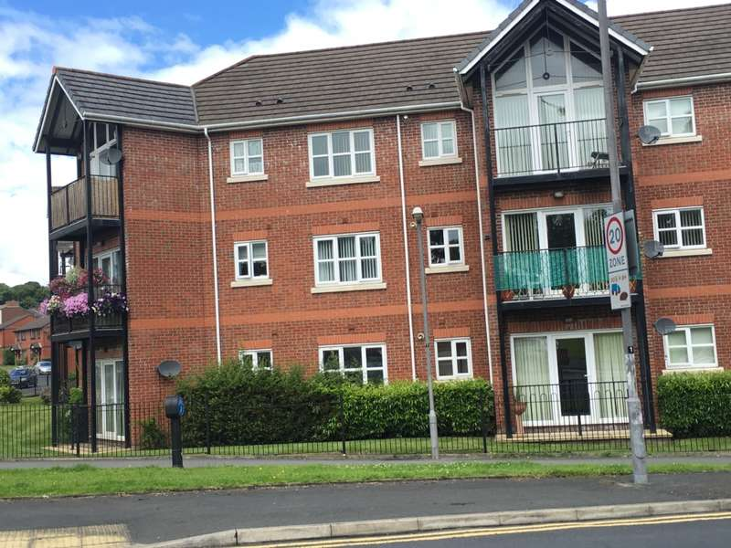 2 Bedrooms Apartment Flat for sale in Chatteris Court, Lugsmore Lane