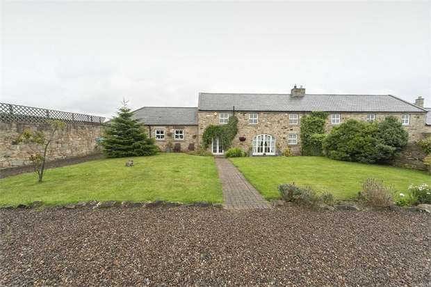 4 Bedrooms Semi Detached House for sale in Felton, Morpeth, Northumberland