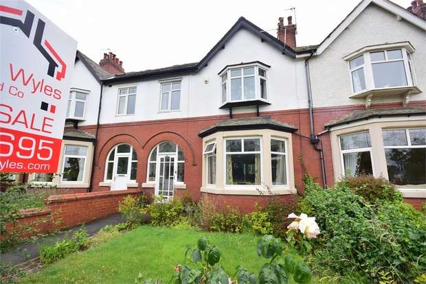 3 Bedrooms Terraced House for sale in Arundel Road, LYTHAM ST ANNES, Lancashire