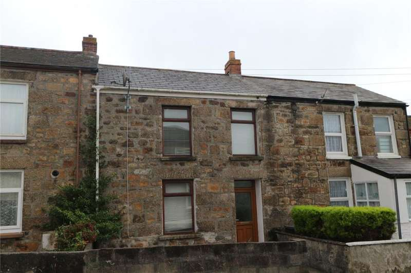 2 Bedrooms Terraced House for sale in Stray Park Road, Camborne, Cornwall