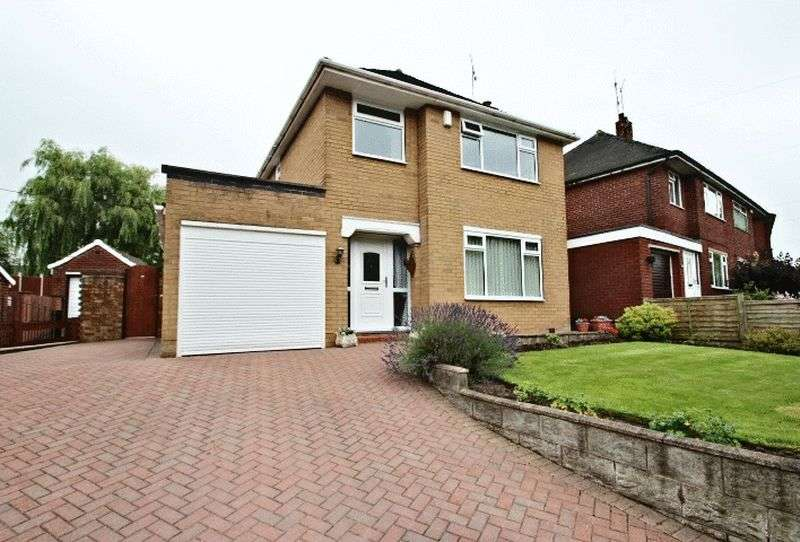 3 Bedrooms Detached House for sale in Kinnersley Avenue, Stoke-On-Trent
