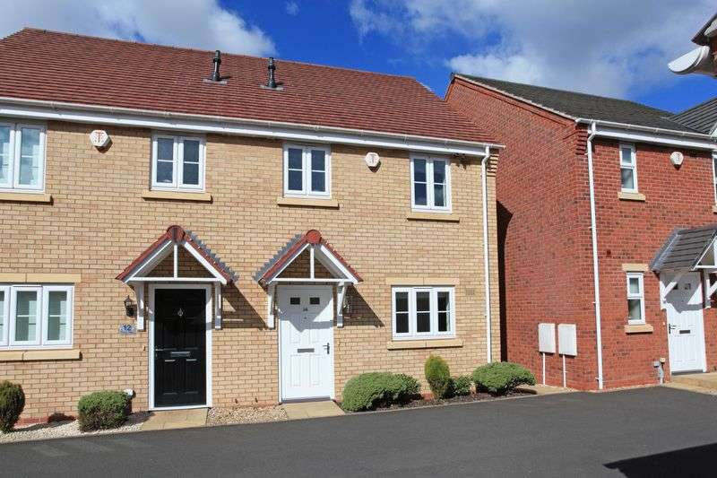 3 Bedrooms Semi Detached House for sale in 14 Priory Way, St. Georges, Telford, Shropshire, TF2 9YQ