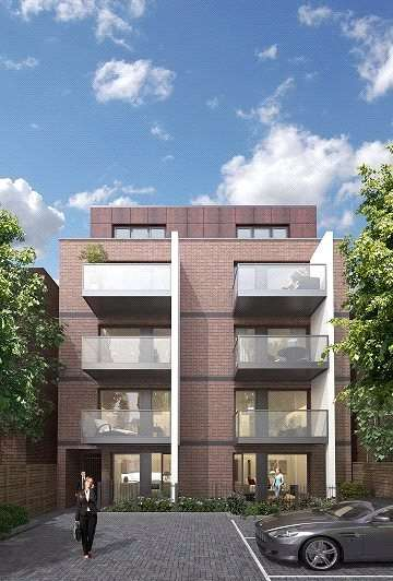 2 Bedrooms Flat for sale in King's Lodge, King's Avenue, Clapham, SW4