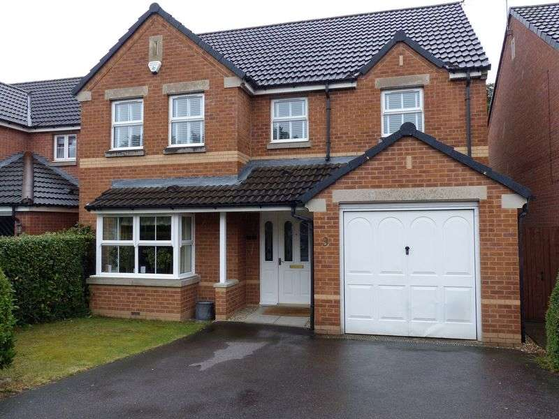4 Bedrooms Detached House for sale in Lotus Court, North Hykeham