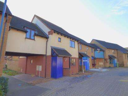 3 Bedrooms Terraced House for sale in Bulmer Close, Broughton, Milton Keynes, Buckinghamshire