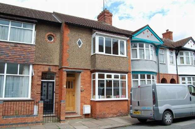 3 Bedrooms Terraced House for sale in King Edward Road, Abington, Northampton NN1 5LY