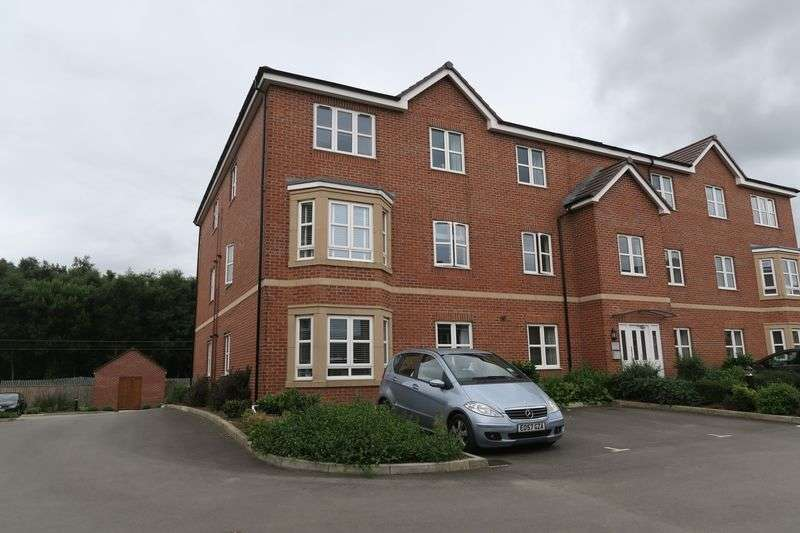 2 Bedrooms Flat for sale in Hazelwood Court, Scampston Drive, East Ardsley, Wakefield