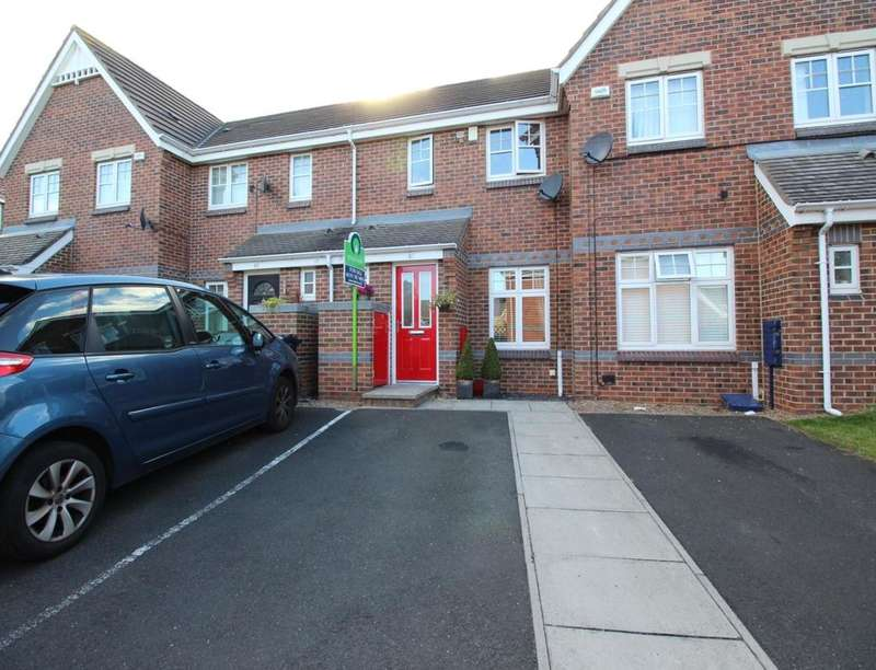 2 Bedrooms Property for sale in Wearhead Drive, Eden Vale, Sunderland, SR4