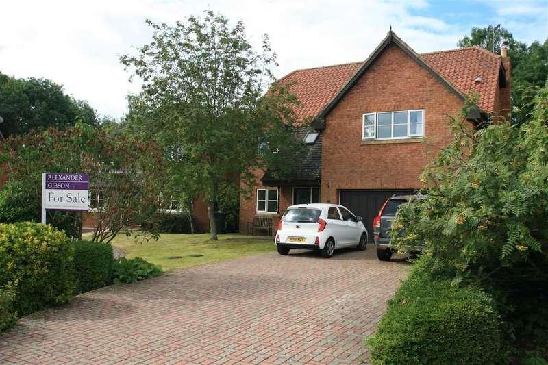 6 Bedrooms Detached House for sale in Abbey Mill Gardens, Knaresborough, near Harrogate HG5 8ER