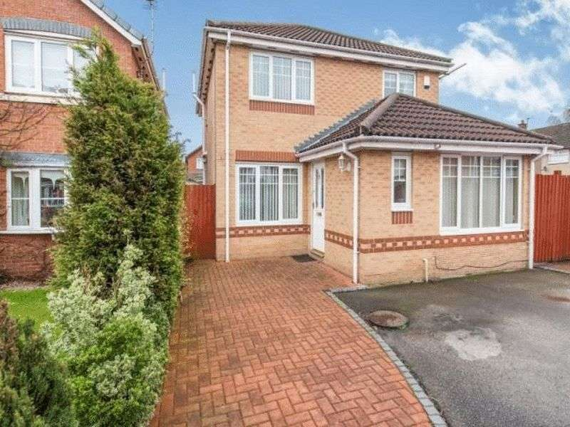 3 Bedrooms Detached House for sale in Weston Grove, Halewood, Liverpool, L26
