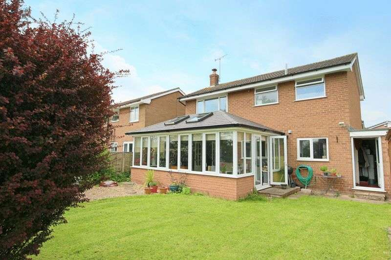 3 Bedrooms Detached House for sale in Hellath Wen, Nantwich