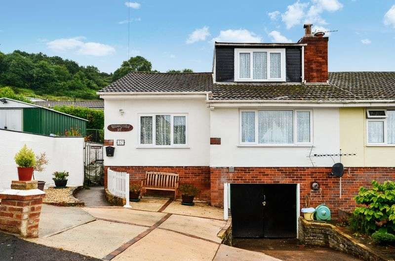 3 Bedrooms Semi Detached Bungalow for sale in SOUTHDOWN AVENUE BRIXHAM