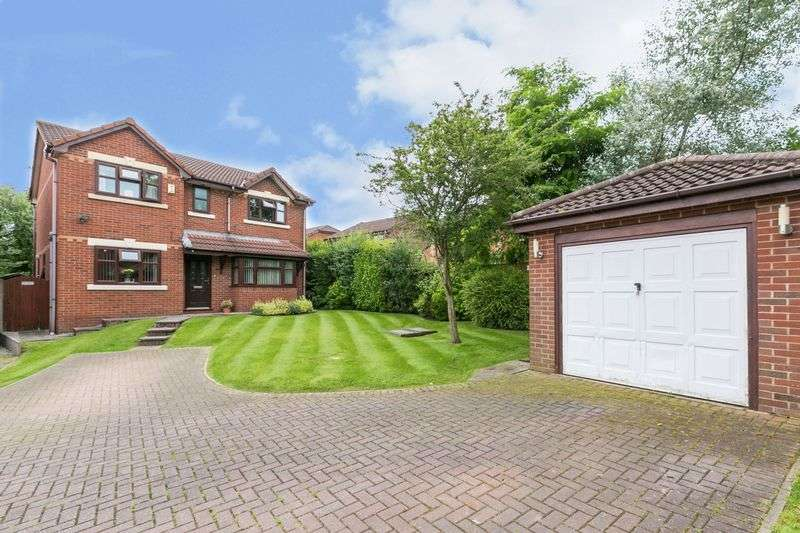 4 Bedrooms Detached House for sale in Needham Way, Dalton Park, WN8 6PR