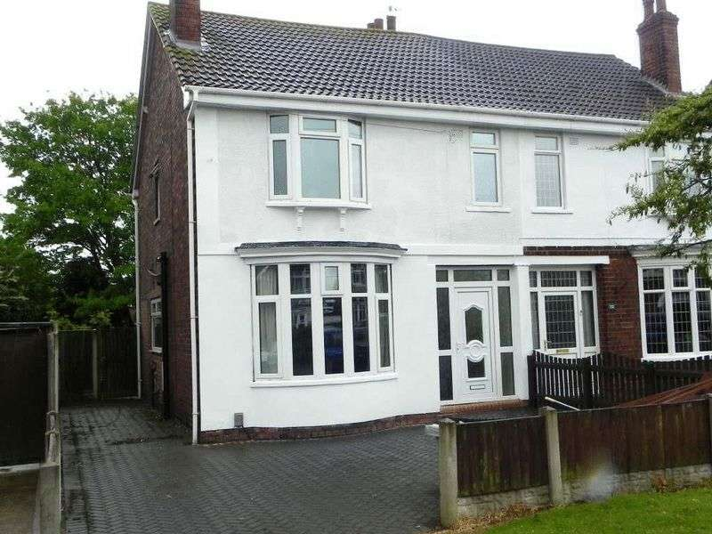 4 Bedrooms Semi Detached House for sale in West Common Lane, DN17 1DU