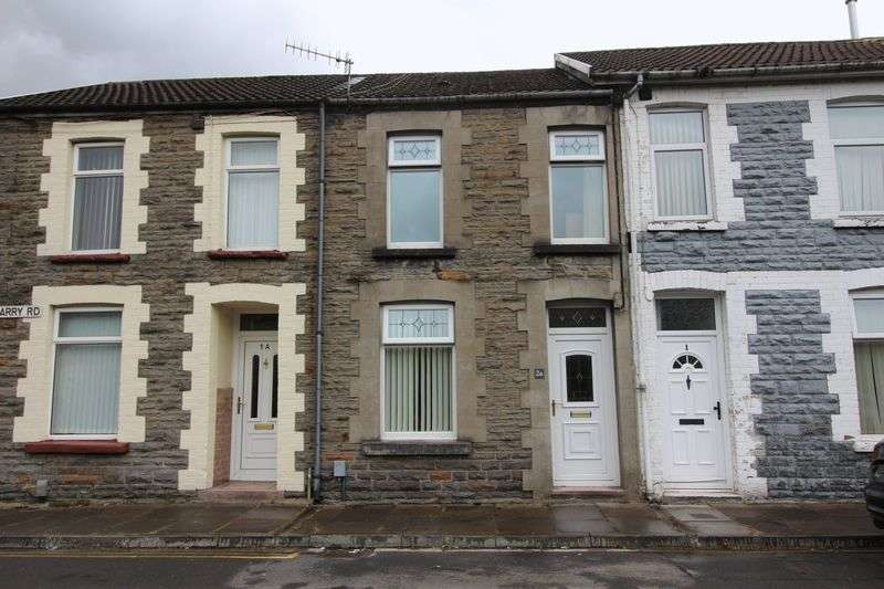 2 Bedrooms Terraced House for sale in Barry Road, Pwllgwaun, Pontypridd, CF37 1HY