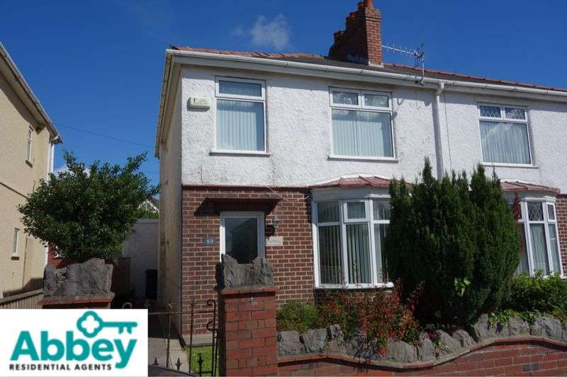 3 Bedrooms Semi Detached House for sale in Crymlyn Road, Skewen, Neath, SA10 6DY