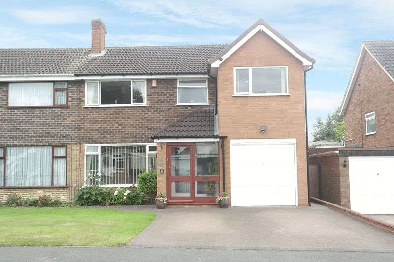 4 Bedrooms Semi Detached House for sale in Cameron Road, Walsall